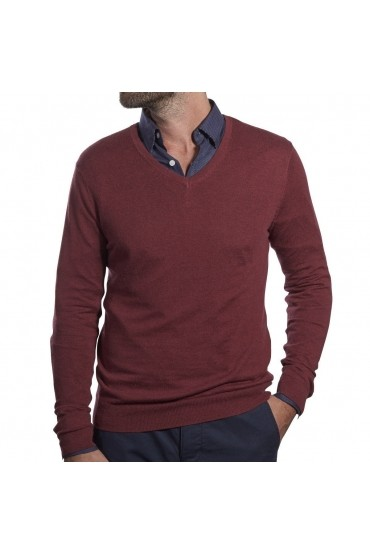 Bordeaux Blind Pullover