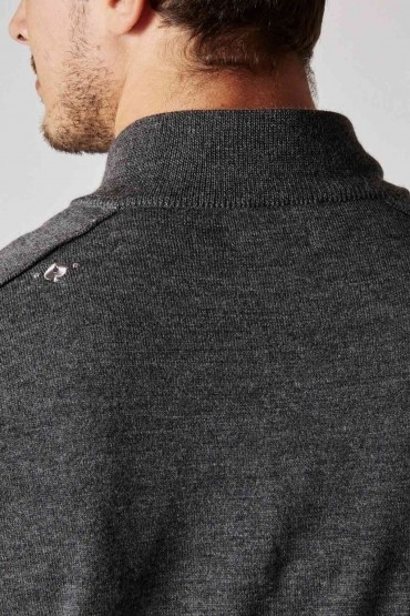 Pull Obrion Anthracite Chiné