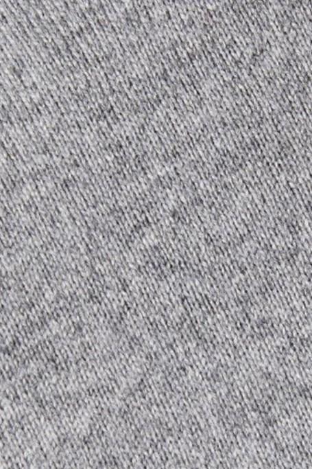 Zoom matière Pull Triomphe Gris Clair Chiné (6)
