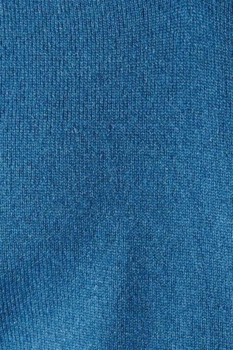 Pull Triomphe Bleu Pétrole zoom matière (7)