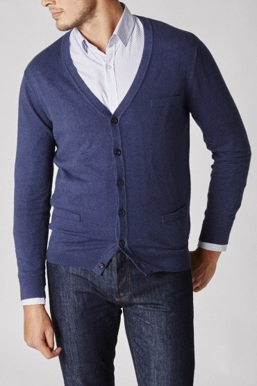 Blue Dandy Cardigan