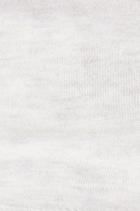 zoom matière sweat bande de joueurs taupe écru (8)