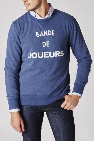 Blue Bande de Joueurs Sweater