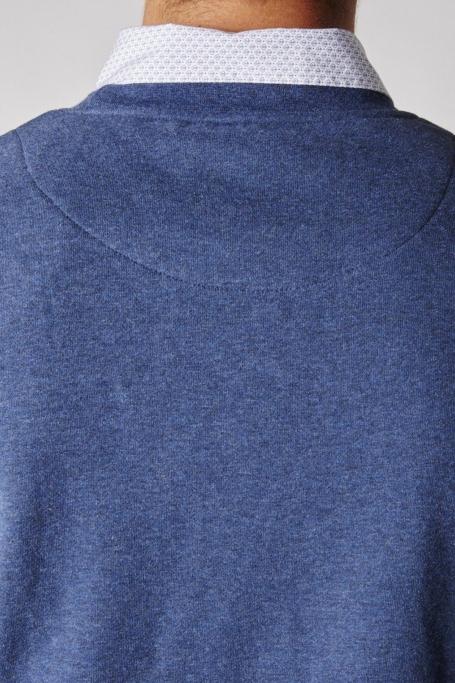 zoom col dos sweat bande de joueurs bleu (7)