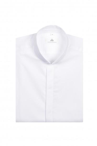 Chemise blanche col inversé...