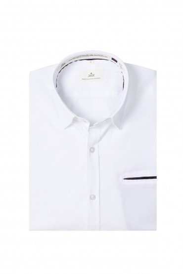 Chemise Oxford blanc Wheel...