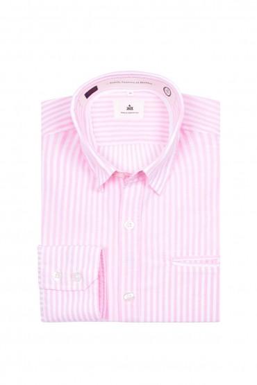 Shirt pink striped Wheel Diego