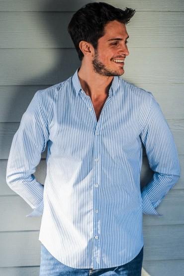 Striped Shirt Oxford...