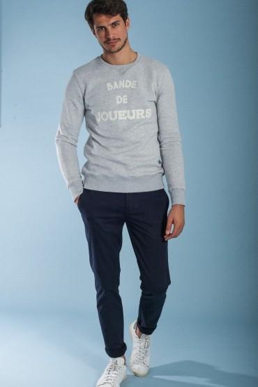 Navy Slack trousers