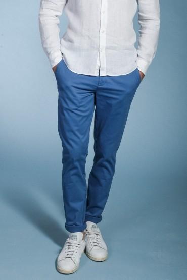 Chino regular Slack blue
