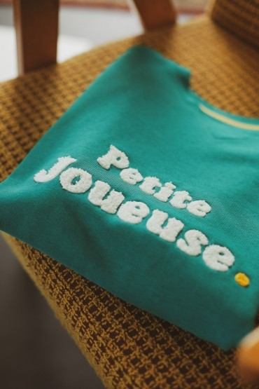 Sweat Petite Joueuse Emeraude