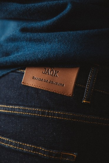 Jean slim fit raw denim