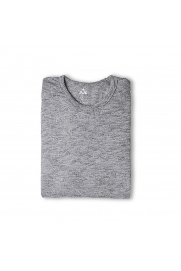 Tee-shirt Gently Gris chiné