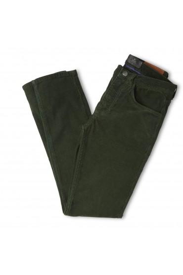 Pantalon Corduroy Vert