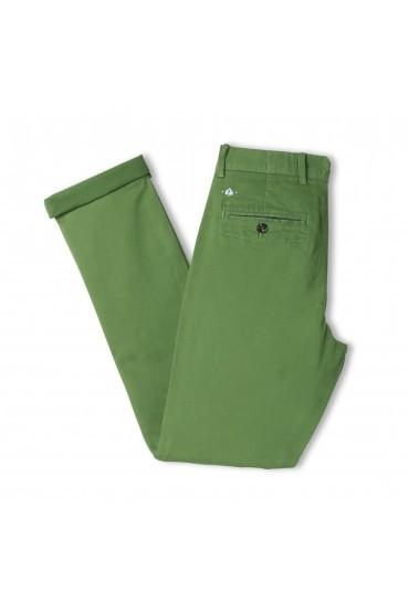 Pantalon Slack Vert olive