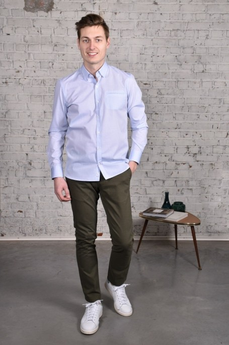 Pantalon Slack Kaki (2)