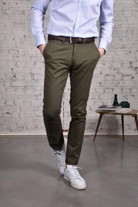 Pantalon Slack Kaki (1)