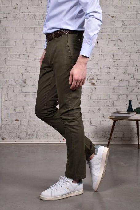 Pantalon Slack Kaki (4)