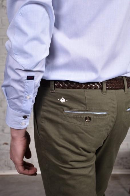 Pantalon Slack Kaki (5)