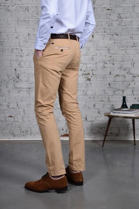 Pantalon Slack Beige (1)