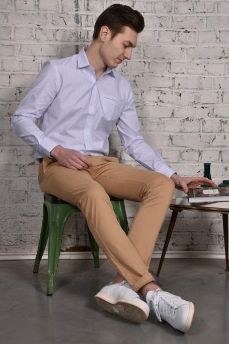 Pantalon Slack Beige (2)