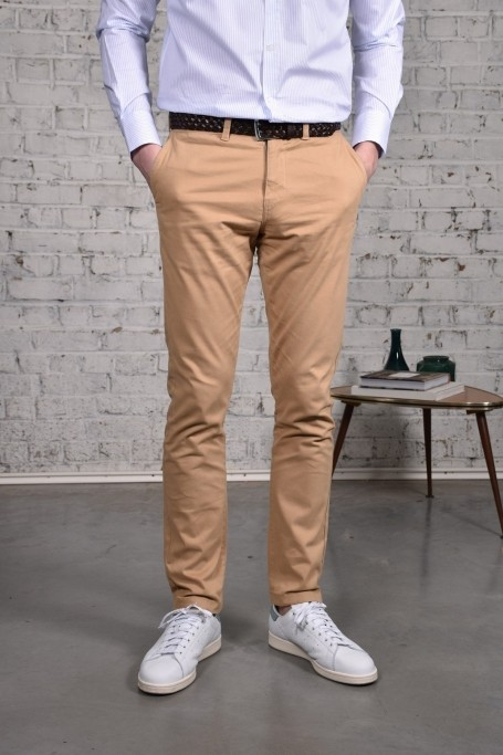 Pantalon Slack Beige (5)