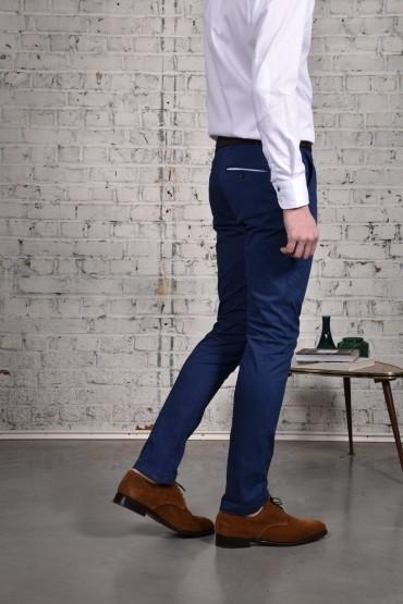 Pantalon Slack Indigo