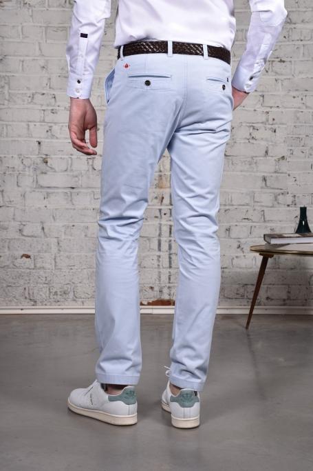 Pantalon Slack Bleu Ciel (3)