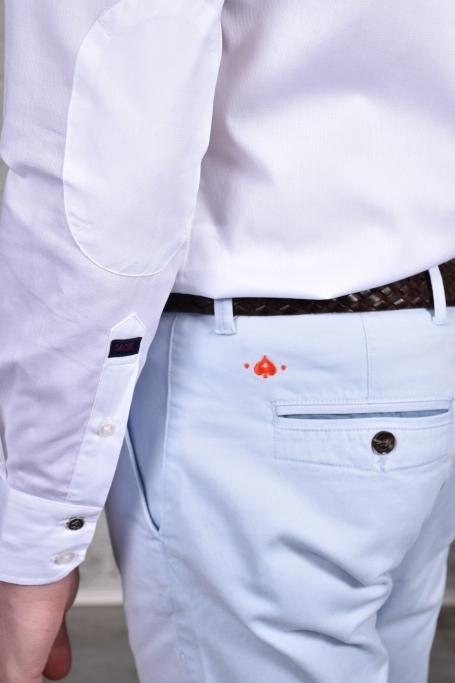 Pantalon Slack Bleu Ciel (1)