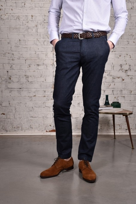 Pantalon Slack Denim (2)