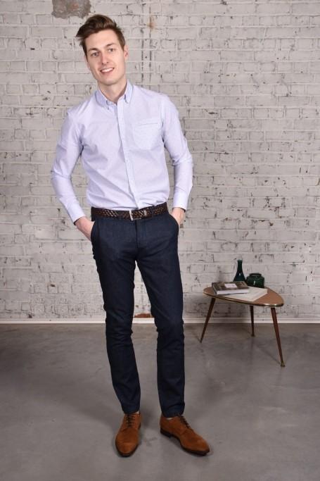 Pantalon Slack Denim (4)