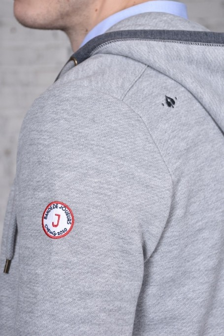 Sweat Le Mans Gris Chiné (1)
