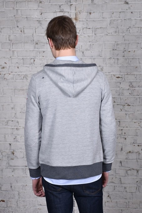 Sweat Le Mans Gris Chiné (2)