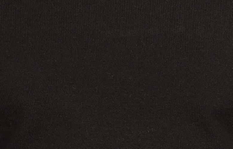 Zoom matière pull Bakari Noir