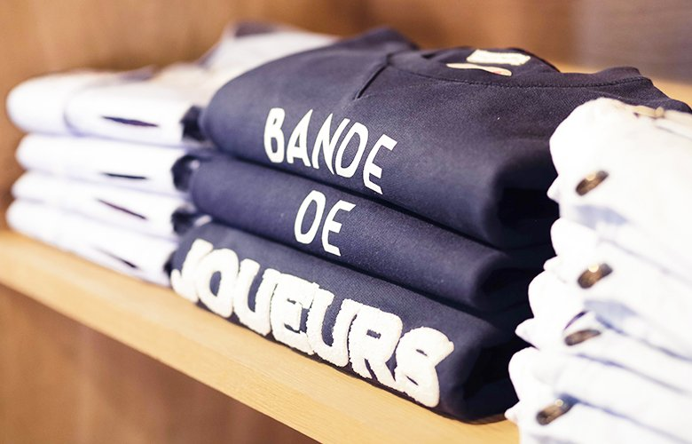 how to wear the bande de joueurs sweat