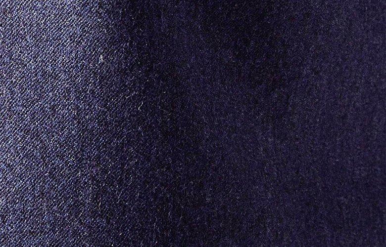 Zoom matière gilet baron bleu