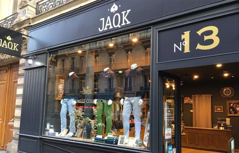 Boutique JAQK Paris la boetie