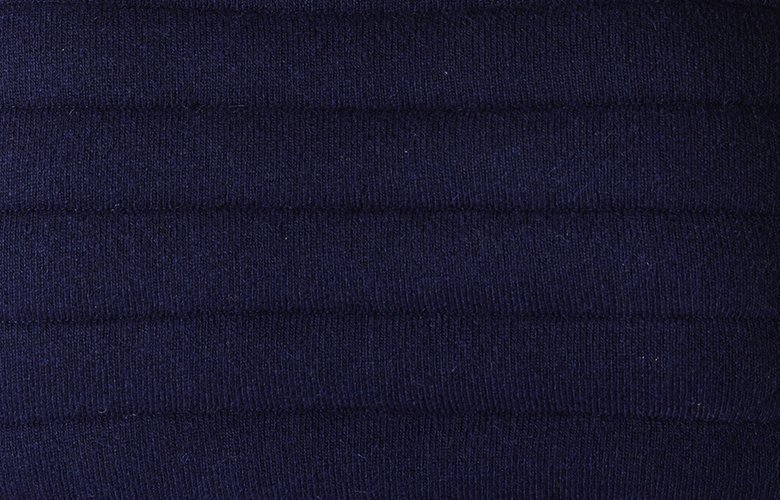 Zoom matière veste Brunch marine