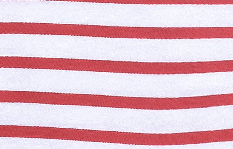 La matière du T-shirt Calypso Rouge