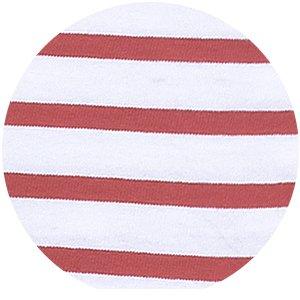 zoom matiere t-shirt calypso rouge