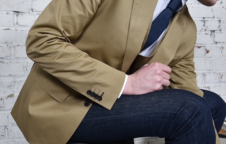 La veste Crowne Tabac