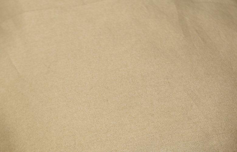 La matière de la veste crown tabac en 100% coton