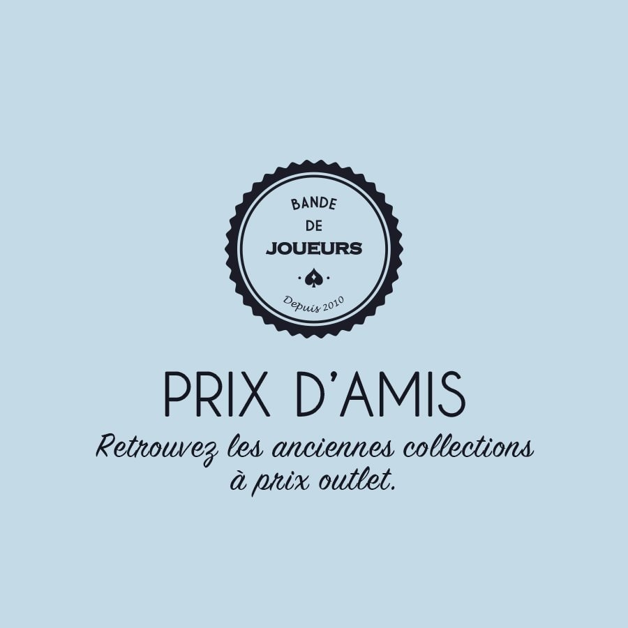 Prix d'amis, collections outlet