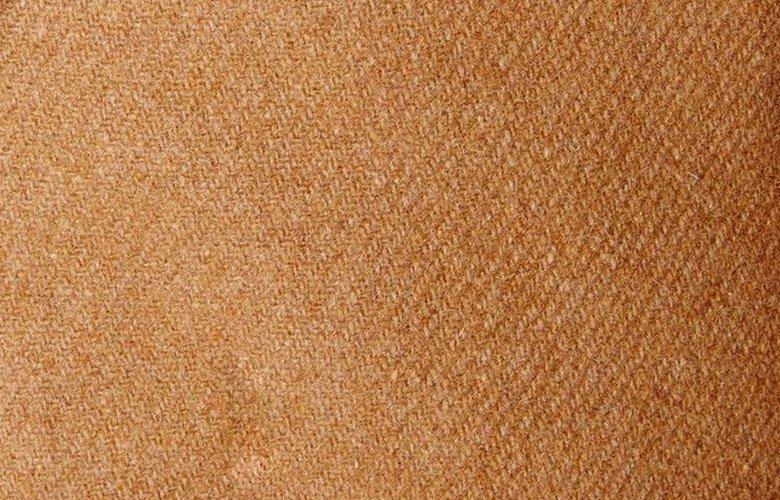 Zoom matière veste Flore Camel