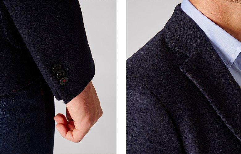 Zoom produit veste Flore Marine