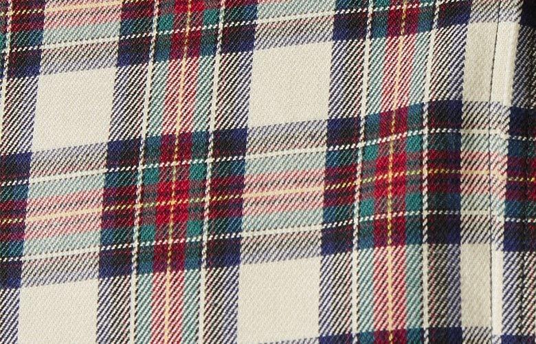 Zoom matiere chemise foxwood ferdinand