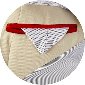 zoom impair beige poches