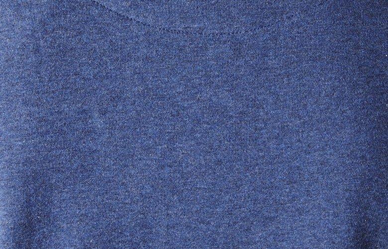 Zoom matiere sweat Bande de Joueurs bleu