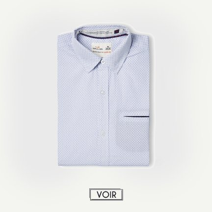 TAO X JAQK chemise blanche wheel homme