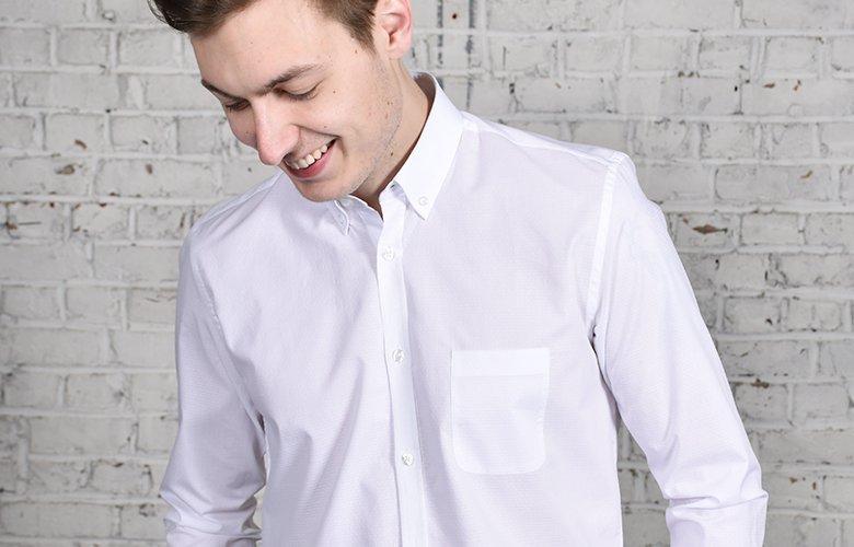 La chemise blanche Laurier kimi son histoire